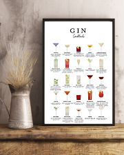 GIN - COCKTAIL GUIDE 16x24 Poster lifestyle-poster-3