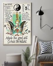 YOGA - INHALE - EXHALE 16x24 Poster lifestyle-poster-1