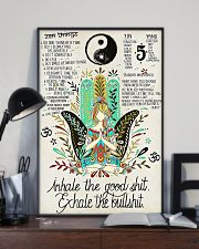 YOGA - INHALE - EXHALE 16x24 Poster lifestyle-poster-2
