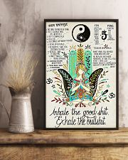 YOGA - INHALE - EXHALE 16x24 Poster lifestyle-poster-3