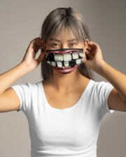 TEETH FUNNY- LIMITED  Cloth face mask aos-face-mask-lifestyle-16