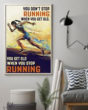 RUNNING IS MY LIFE 16x24 Poster lifestyle-poster-1