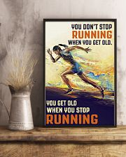 RUNNING IS MY LIFE 16x24 Poster lifestyle-poster-3