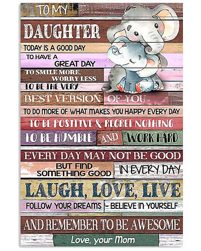 TO MY DAUGHTER - LIMITED EDITION