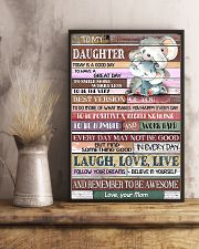 TO MY DAUGHTER - LIMITED EDITION 11x17 Poster lifestyle-poster-3