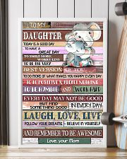 TO MY DAUGHTER - LIMITED EDITION 11x17 Poster lifestyle-poster-4