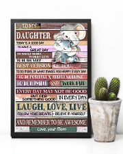 TO MY DAUGHTER - LIMITED EDITION 11x17 Poster lifestyle-poster-8