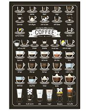 38 WAYS TO MAKE A PERFECT COFFEE 11x17 Poster front