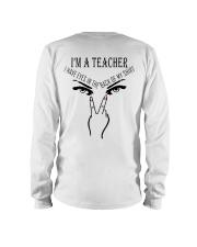 I'M A TEACHER Long Sleeve Tee thumbnail