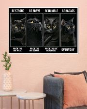 BLACK CAT - LIMITED EDITION 36x24 Poster poster-landscape-36x24-lifestyle-18