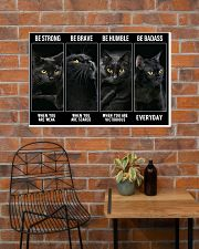 BLACK CAT - LIMITED EDITION 36x24 Poster poster-landscape-36x24-lifestyle-20
