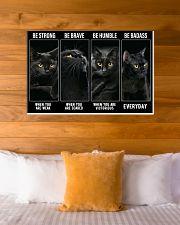 BLACK CAT - LIMITED EDITION 36x24 Poster poster-landscape-36x24-lifestyle-23