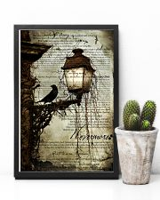 THE RAVEN - WATERCOLOR PRINTED - NEVERMORE 11x17 Poster lifestyle-poster-8