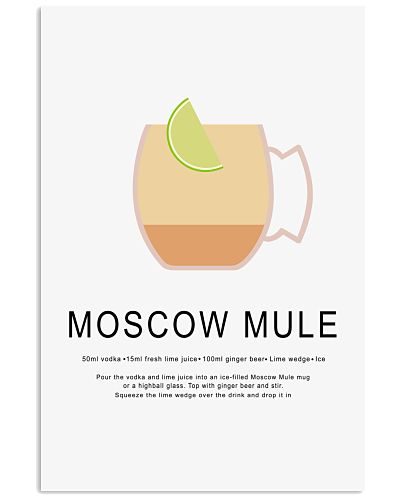 MOSCOW MULE  - COCKTAIL GUIDE - LIMITED EDITION