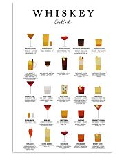 WHISKEY - COCKTAIL GUIDE 16x24 Poster front