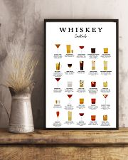 WHISKEY - COCKTAIL GUIDE 16x24 Poster lifestyle-poster-3