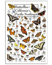 BUTTERFLIES OF CALIFORNIA AND PACIFIC NORTHWEST 11x17 Poster front
