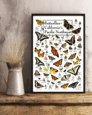 BUTTERFLIES OF CALIFORNIA AND PACIFIC NORTHWEST 11x17 Poster lifestyle-poster-3