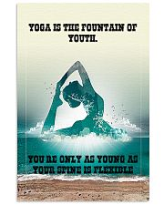 YOGA FOR LIFE 11x17 Poster front