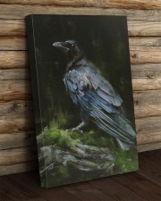 THE RAVEN - WATERCOLOR PRINTED - NEVERMORE 20x30 Gallery Wrapped Canvas Prints aos-canvas-pgw-20x30-lifestyle-front-19