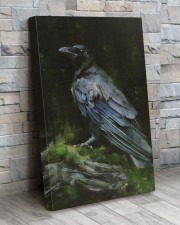 THE RAVEN - WATERCOLOR PRINTED - NEVERMORE 20x30 Gallery Wrapped Canvas Prints aos-canvas-pgw-20x30-lifestyle-front-20