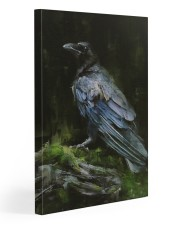 THE RAVEN - WATERCOLOR PRINTED - NEVERMORE 20x30 Gallery Wrapped Canvas Prints front