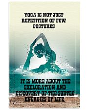 YOGA FOR LIFE 16x24 Poster front