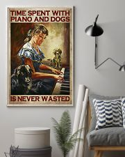 PIANO AND DOGS 16x24 Poster lifestyle-poster-1