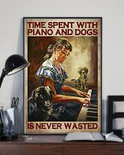 PIANO AND DOGS 16x24 Poster lifestyle-poster-2