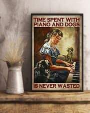 PIANO AND DOGS 16x24 Poster lifestyle-poster-3