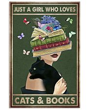 WHO REALLY LOVED CATS AND BOOK 11x17 Poster front