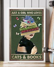 WHO REALLY LOVED CATS AND BOOK 11x17 Poster lifestyle-poster-4
