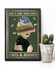 WHO REALLY LOVED CATS AND BOOK 11x17 Poster lifestyle-poster-8