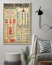 CHAKRA KNOWLEDGE - YOGA FOR LIFE 16x24 Poster lifestyle-poster-1