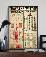 CHAKRA KNOWLEDGE - YOGA FOR LIFE 16x24 Poster lifestyle-poster-2