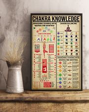 CHAKRA KNOWLEDGE - YOGA FOR LIFE 16x24 Poster lifestyle-poster-3