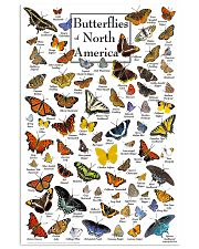 BUTTERFLIES OF NORTH AMERICA 11x17 Poster front