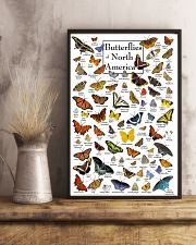 BUTTERFLIES OF NORTH AMERICA 11x17 Poster lifestyle-poster-3