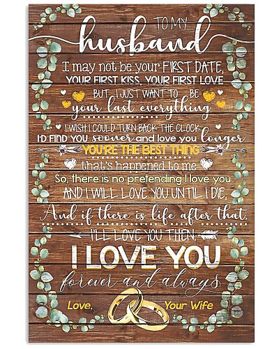 TO MY HUSBAND - LIMITED EDITION