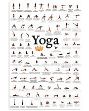YOGA POSES FOR BEGINNER - LIMITED EDITION 16x24 Poster front