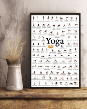 YOGA POSES FOR BEGINNER - LIMITED EDITION 16x24 Poster lifestyle-poster-3