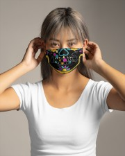 SKULL FUNNY- LIMITED  Cloth face mask aos-face-mask-lifestyle-16