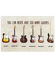 FENDER GUITAR COLLECTION - LIMITED EDITION 17x11 Poster front