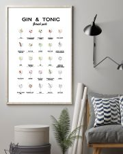 GIN AND TONIC -  GARNISH GUIDE 16x24 Poster lifestyle-poster-1