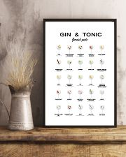 GIN AND TONIC -  GARNISH GUIDE 16x24 Poster lifestyle-poster-3