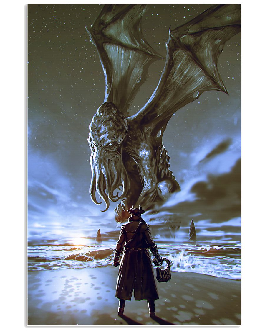 THE CALL OF THE CTHULHU 11x17 Poster