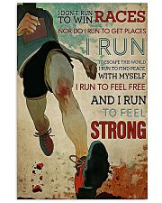 CANT STOP RUNNING 16x24 Poster front