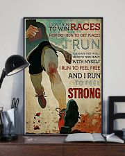 CANT STOP RUNNING 16x24 Poster lifestyle-poster-2
