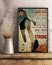 CANT STOP RUNNING 16x24 Poster lifestyle-poster-3
