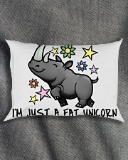 A FAT UNICORN Rectangular Pillowcase aos-pillow-rectangle-front-lifestyle-1